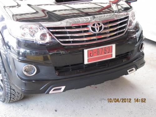 img_ชุดแต่ง Toyota Fortuner ชุดแต่งรอบคัน  โตโยต้า ฟอร์จูนเนอร์ ด้านหน้า