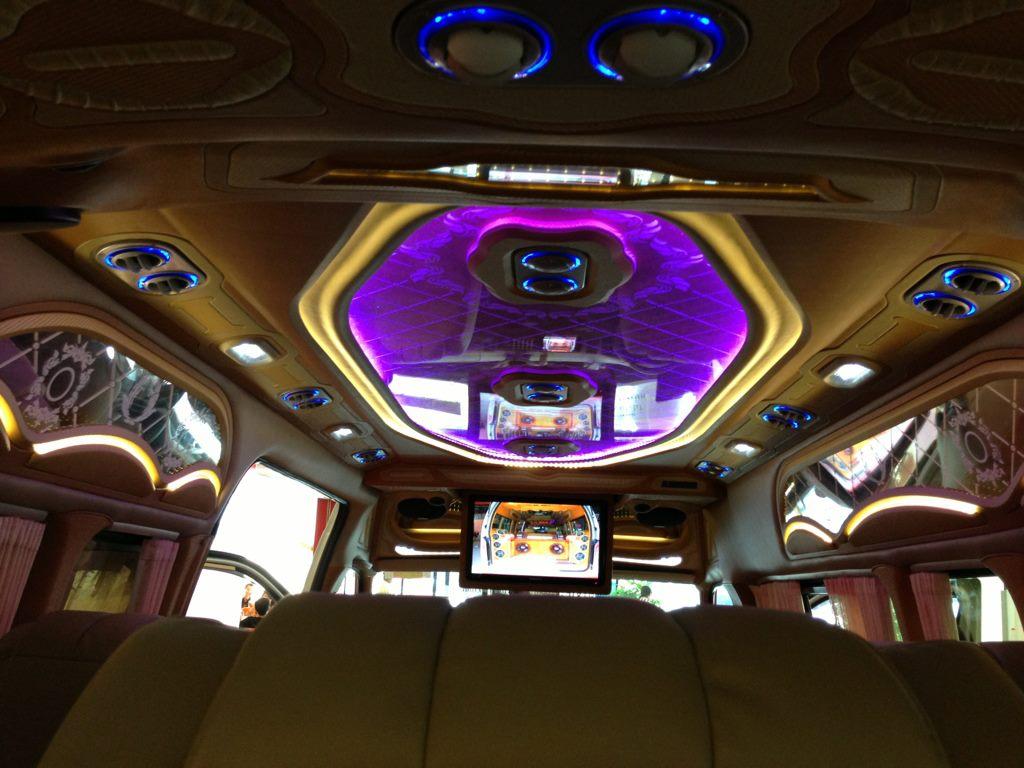 Van interior design  ตกแต่งภายในรถตู้ แต่งรถตู้ ตกแต่งรถตู้  รถตู้แต่งวีไอพี VIP